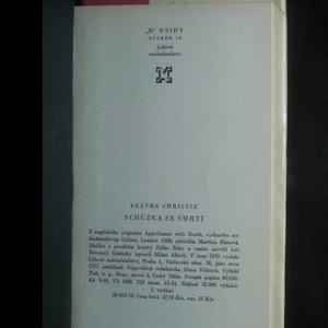 antikvární kniha Schůzka se smrtí, 1970