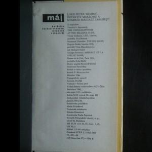 antikvární kniha Lord Peter Wimsey, detektív Marlowe a komisár Maigret zasahujú, 1966