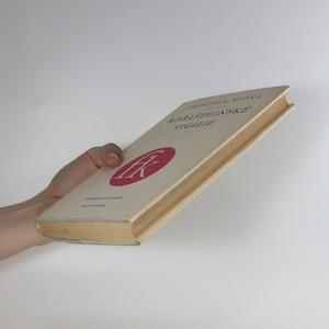 antikvární kniha Karlštejnské vigilie, 1957
