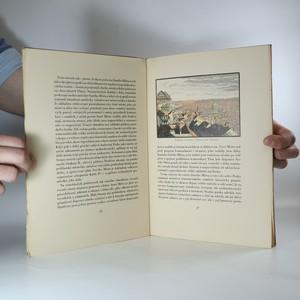 antikvární kniha Praha v barevných dřevorytech, 1944