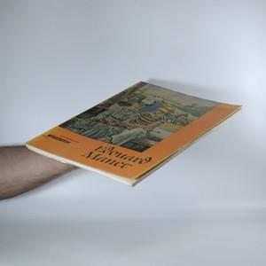 antikvární kniha Edouard Manet, 1959