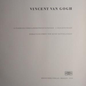 antikvární kniha Vincent van Gogh, 1959