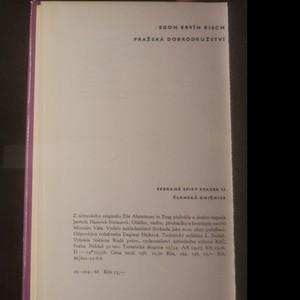 antikvární kniha Pražská dobrodružství, 1968