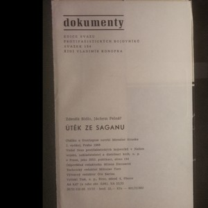 antikvární kniha Útěk ze Saganu, 1968