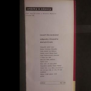antikvární kniha Nápady čtenáře detektivek, 1965