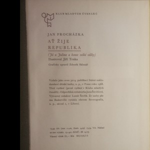 antikvární kniha Ať žije republika, 1968