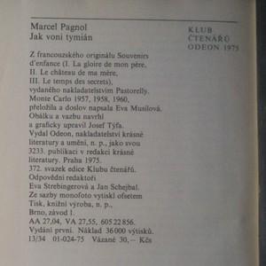antikvární kniha Jak voní tymián, 1975