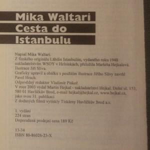 antikvární kniha Cesta do Istanbulu, 2003