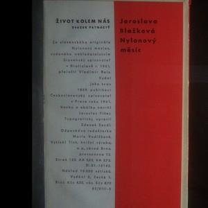 antikvární kniha Nylonový měsíc, 1961