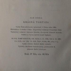 antikvární kniha Krásná Tortiza, 1953