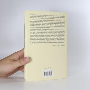 antikvární kniha Společenský agent Jiří Mucha. Láska a žal za železnou oponou - intriky, sex, špioni, 2012