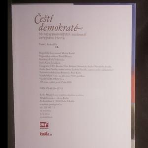 antikvární kniha Čeští demokraté. 50 nejvýznamnějších osobností veřejného života, 2010