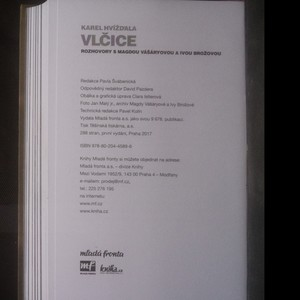 antikvární kniha Vlčice. Rozhovory s Magdou Vášáryovou a Ivou Brožovou, 2017