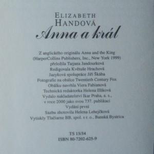 antikvární kniha Anna a král, 2000