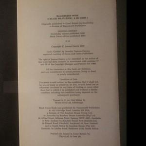 antikvární kniha Blackberry Wine, neuveden