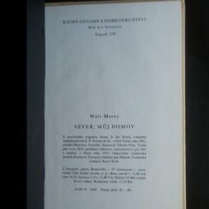 antikvární kniha Sever, můj domov, 1973
