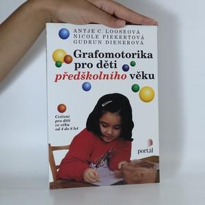 náhled knihy - Grafomotorika pro děti předškolního věku