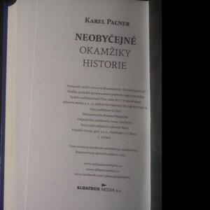 antikvární kniha Neobyčejné okamžiky historie, 2017