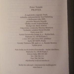 antikvární kniha Pravda, 2011