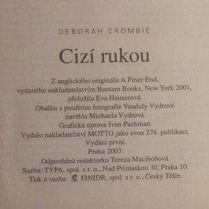 antikvární kniha Cizí rukou, 2003