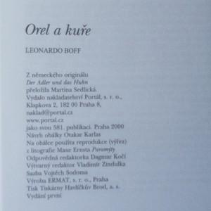 antikvární kniha Orel a kuře. O integraci a dynamické rovnováze protikladů v nás, 2000