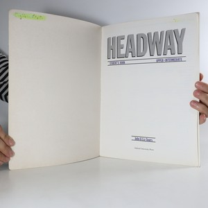 antikvární kniha Headway : upper-intermediate, student´s book, 1993