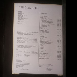 antikvární kniha The Maldives, 2003