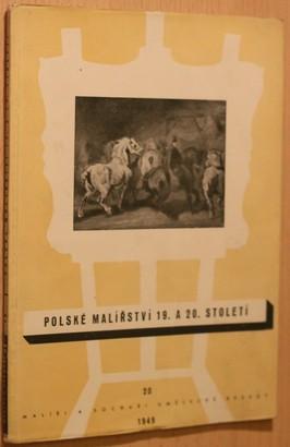 náhled knihy - Polské malířství 19. a 20. století