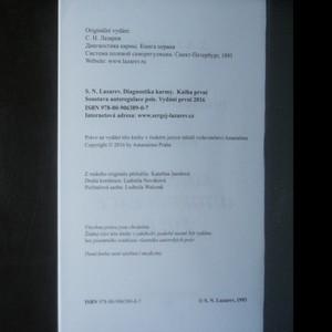 antikvární kniha Diagnostika karmy, 2016