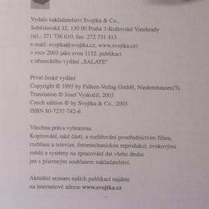 antikvární kniha Saláty, 2003