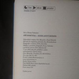 antikvární kniha Jiří Horčička - rozhlasový režisér, 2003