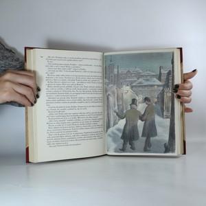 antikvární kniha U snědeného krámu. Líčení z pražského života. Díl 1. - 4. (1 svazek, výtisk č. 108, asi podpis ilustrátora), 1941