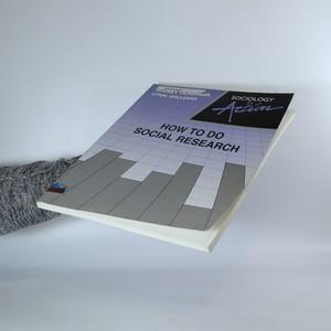 antikvární kniha How to do social research, 1991