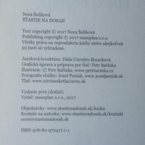 antikvární kniha Šťastie na dosah, 2017