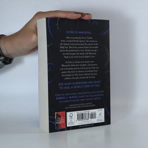 antikvární kniha A Court of Mist and Fury (2. díl), 2016