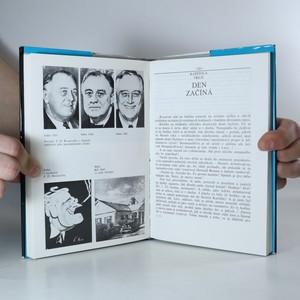 antikvární kniha Nedokončený portrét. Poslední dny F.D. Roosevelta, 1987