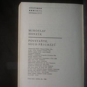 antikvární kniha Povstaňte, soud přichází, 1986