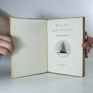 antikvární kniha Roald Amundsen, 1955