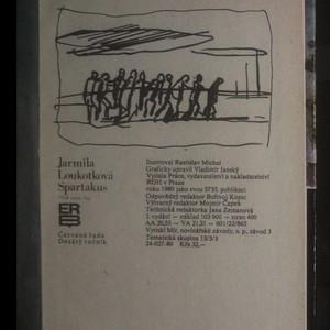 antikvární kniha Spartakus. Před námi boj, 1980