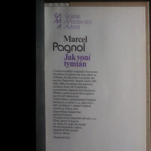 antikvární kniha Jak voní tymián. Vzpomínky z dětství, 1981