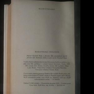 antikvární kniha Bohatýrská trilogie, 1959