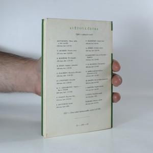 antikvární kniha Balady, 1964