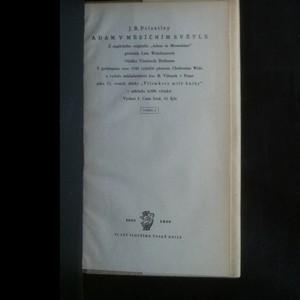 antikvární kniha Adam v měsíčním světle, 1948