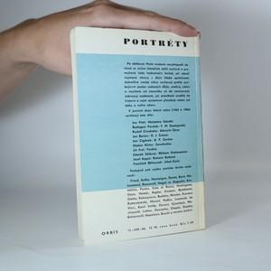 antikvární kniha Portréty. F. M. Dostojevskij, 1964