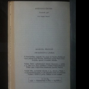 antikvární kniha Swannova láska, 1964