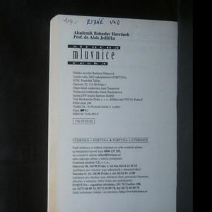 antikvární kniha Stručná mluvnice česká, 2002
