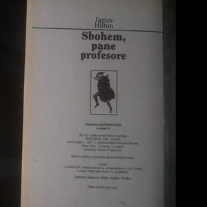 antikvární kniha Sbohem, pane profesore, 1992