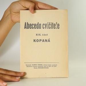 náhled knihy - Abeceda cvičitele. Část 19. Kopaná