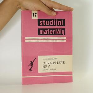 náhled knihy - Olympijské hry antické a moderní