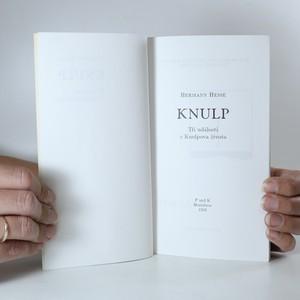 antikvární kniha Knulp. Tři události z Knulpova života, 1993